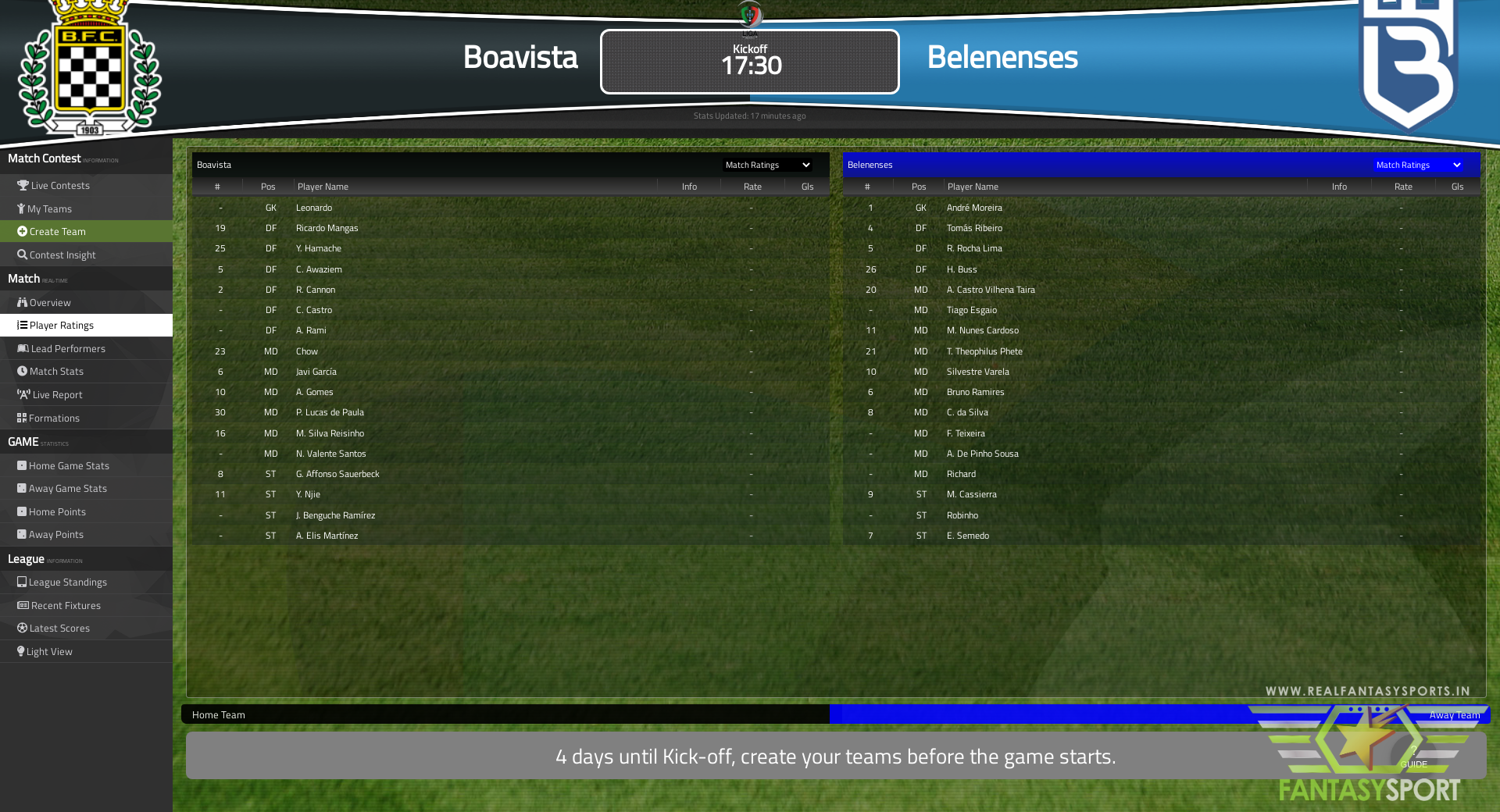 Boavista Vs Belenenses
