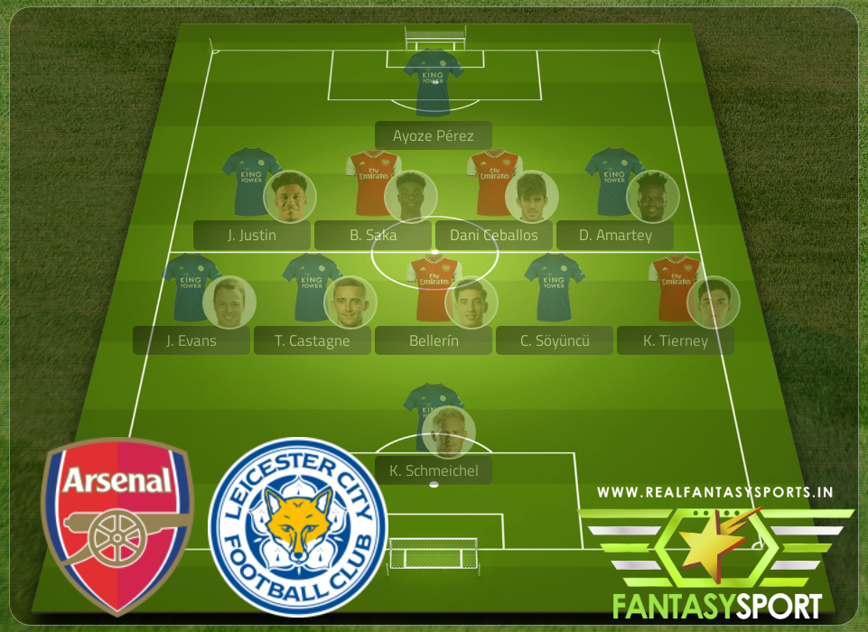 Dream11 Arsenal Vs Leicester City