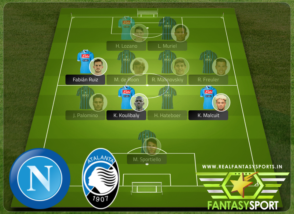 Dream11 Napoli Vs Atalanta