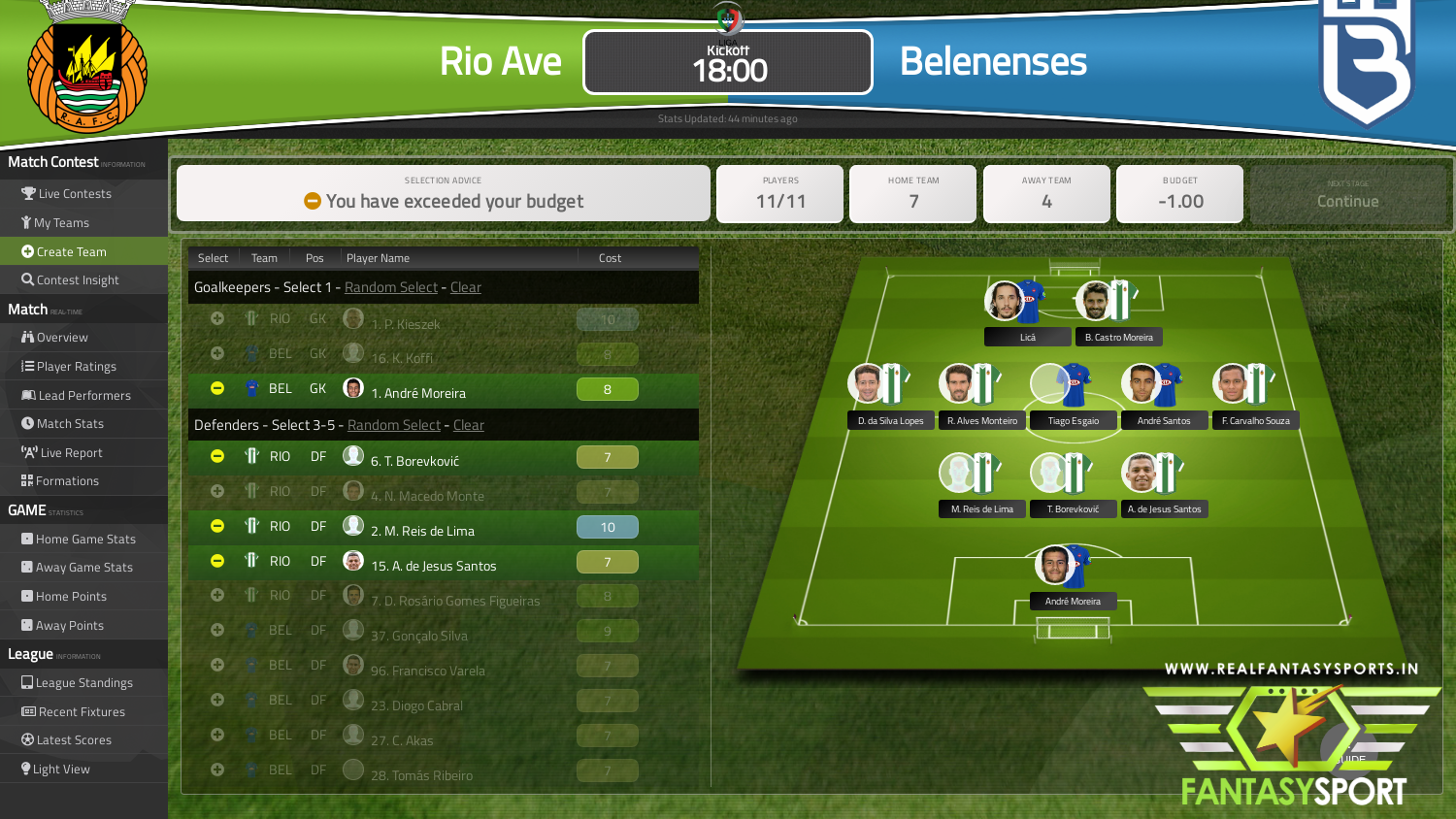 Rio ave vs belenenses betting expert nfl does matched betting work