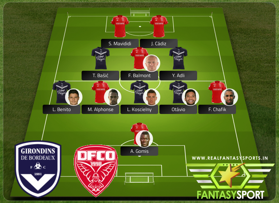 Fantasy Team Bordeaux Vs Dijon