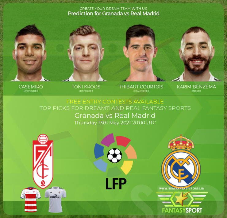 Granada vs Real Madrid prediction (13th May 2021)