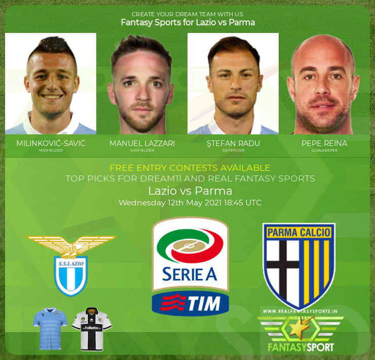 Lazio vs Parma prediction (12th May 2021)