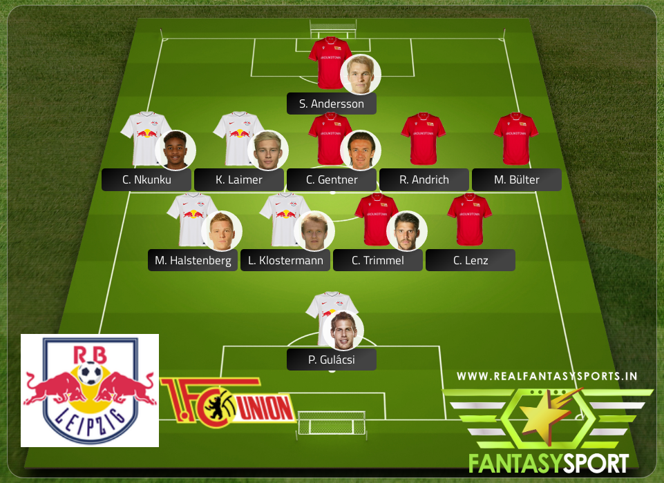 Fantasy Team Rb Leipzig Vs Union Berlin