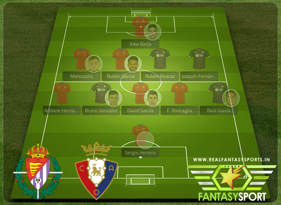 Real Valladolid Vs Osasuna Dream11 Team Prediction 11th December 2020 Real Fantasy Sports India