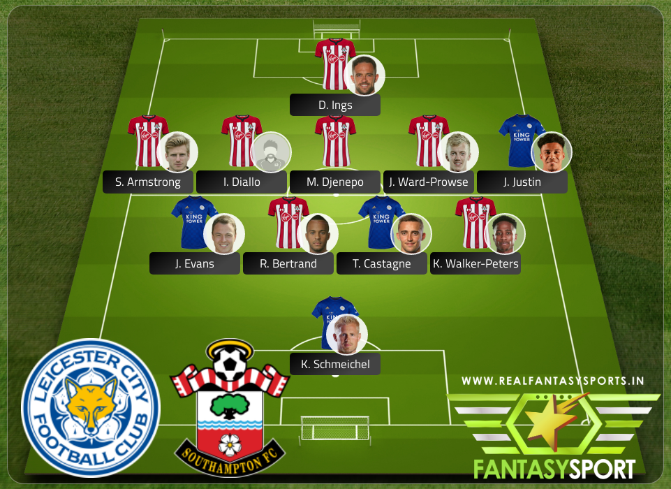 Recommended Players Leicester City Vs Southampton