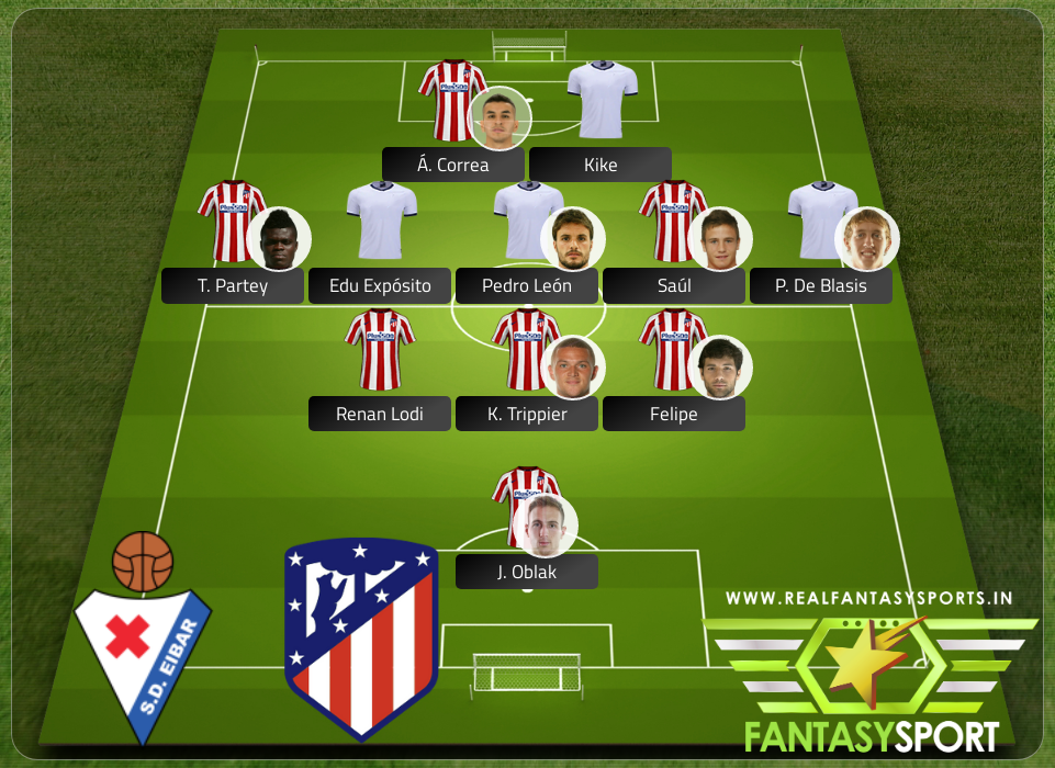 Recommended Players Sd Eibar Vs Atl Tico Madrid