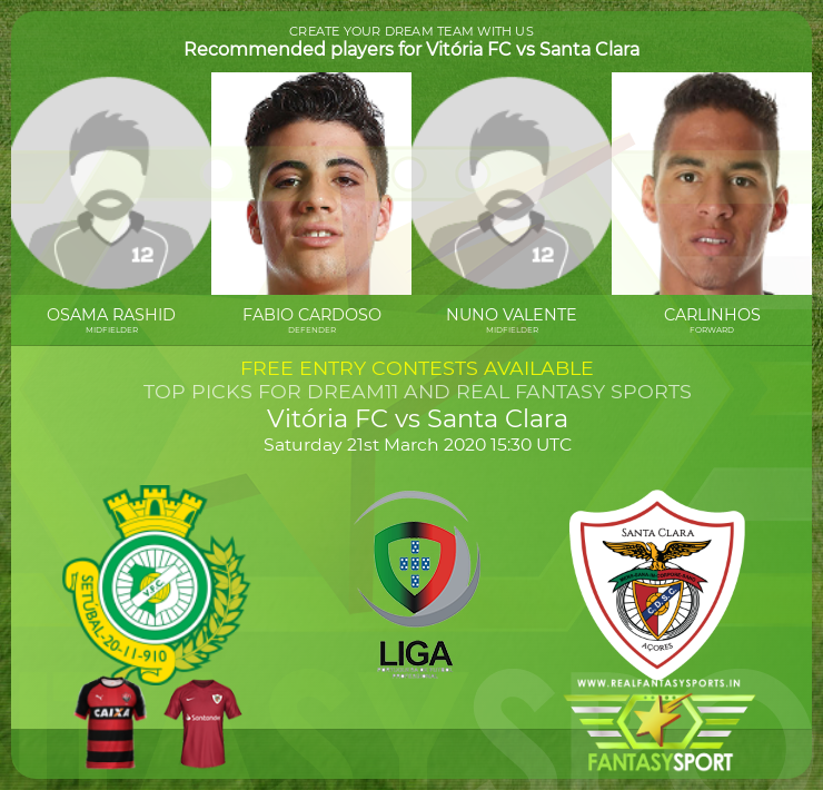 Vitória FC vs Santa Clara football prediction (21st March 2020)