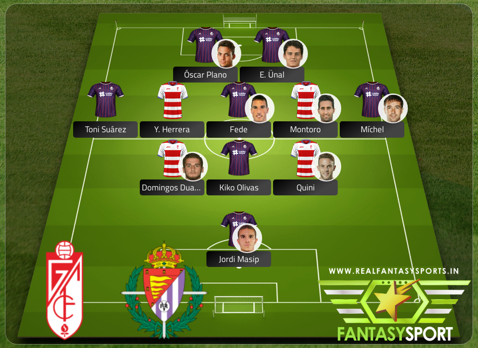 Top 11 Pick Granada Vs Real Valladolid