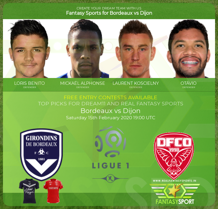 Top Players Bordeaux Vs Dijon