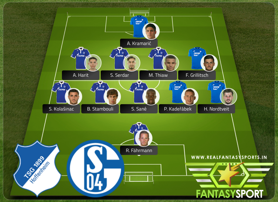 Top Players Hoffenheim Vs Schalke 04