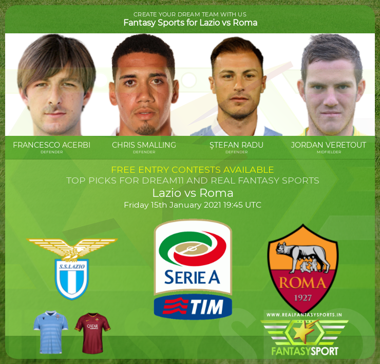 Top Players Lazio Vs Roma