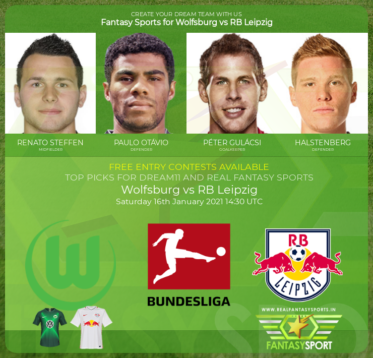 Wolfsburg vs RB Leipzig prediction (16th January 2021)