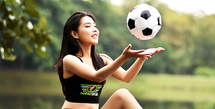 Girl Football Fantasy